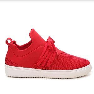 Steve Madden Red Lancer Sneaker
